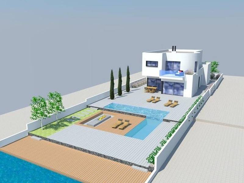 Spectacular design project located in one of the most exclusive areas of Empuriabrava
